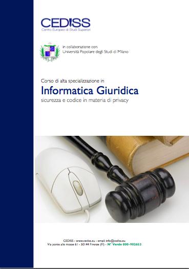 informatica giuridica e legge sulla privacy